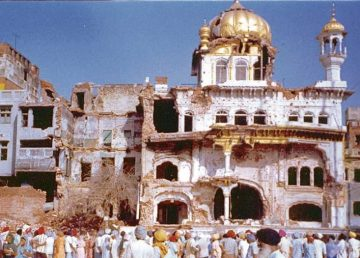 Saka Akal Takht 1984