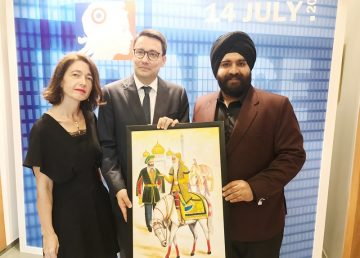 Kukreja celebrates Bastille Day in Delhi