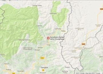Sikkim's Gurdwara Nanak Lama