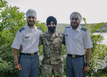 Sikh Cadets graduates Us Military Training