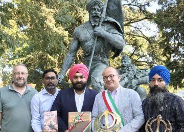 First Sikh War Memorial Forli, Italy