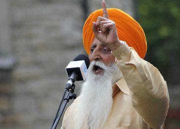 Dal Khalsa doyen Manmohan Singh Khalsa
