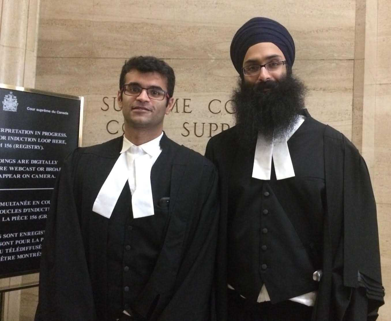Counsels Avnish Nanda and Balpreet Singh