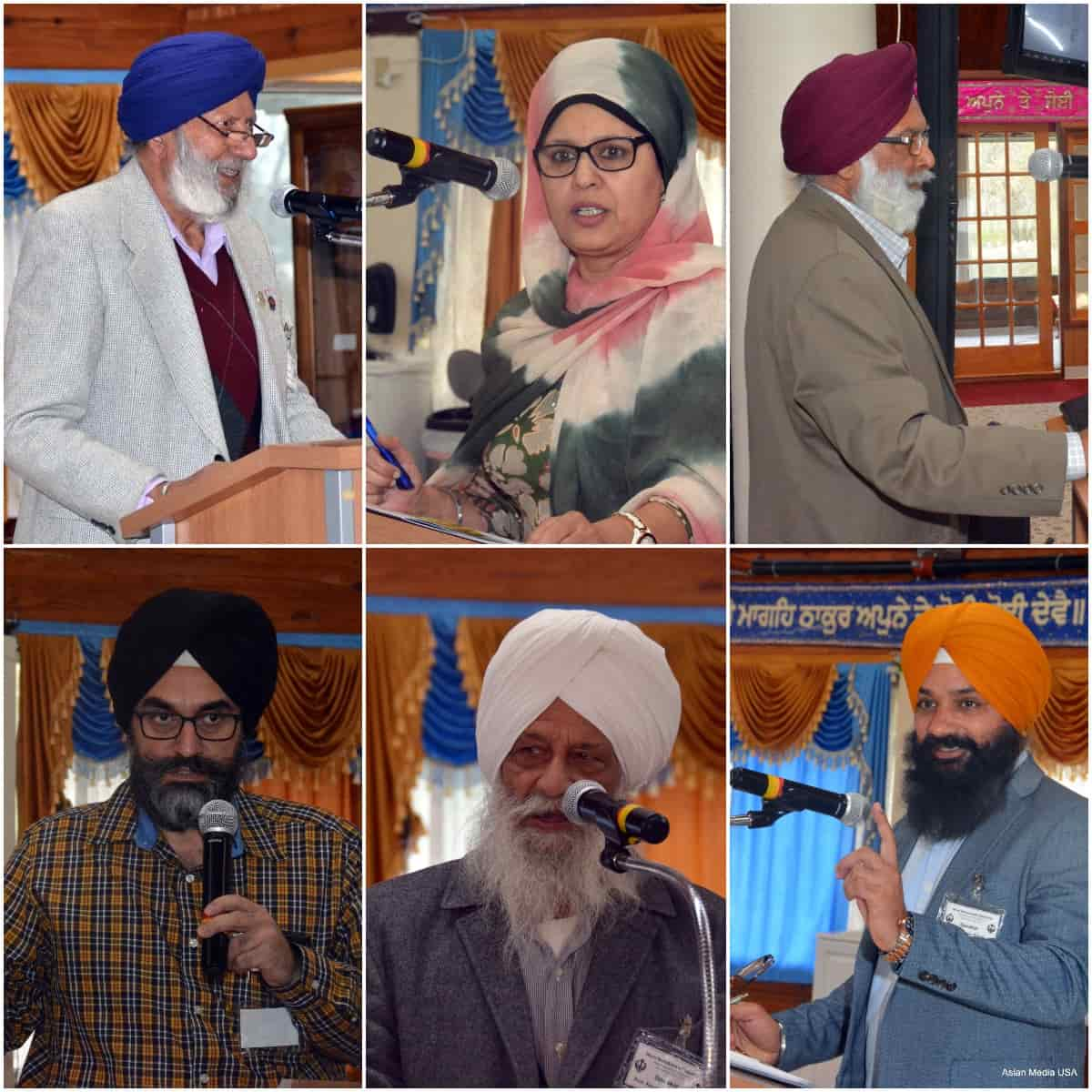 Speakers at Sikh Chicago meet