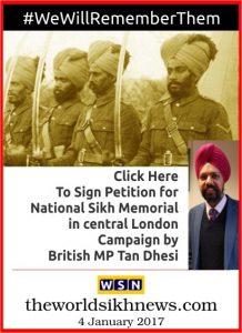 National Sikh memorial